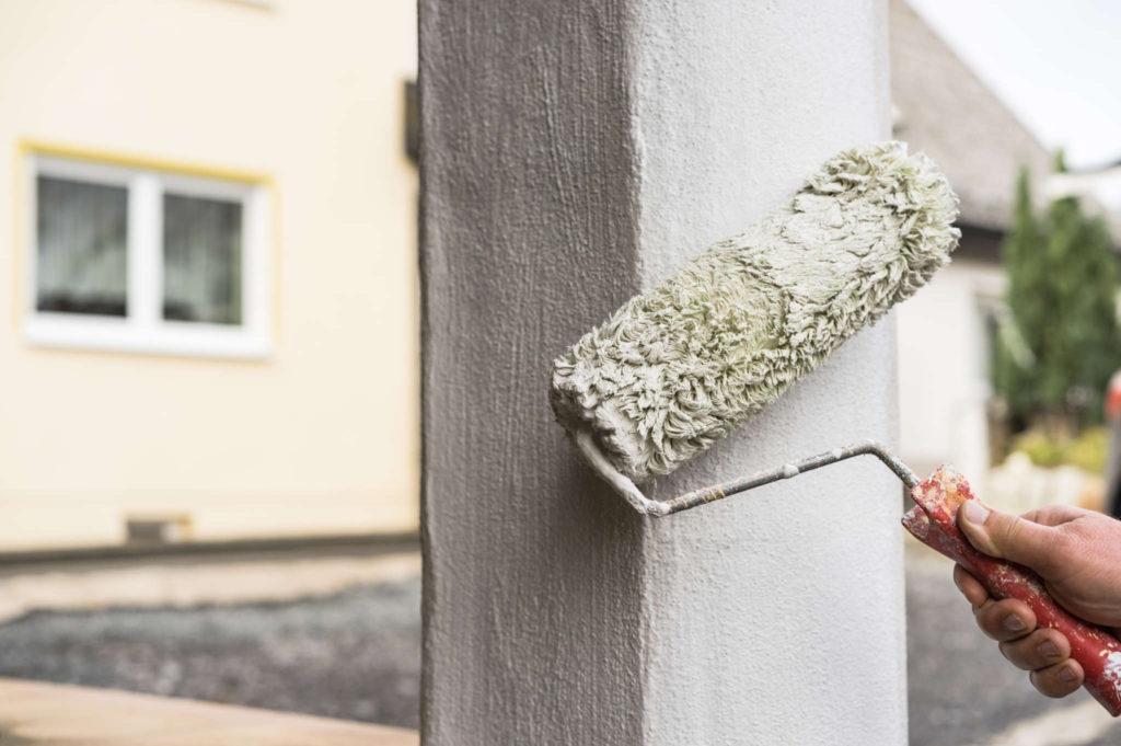 Tinteggiare e proteggere le pareti esterne