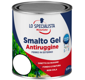 smalto gel antiruggine bianco