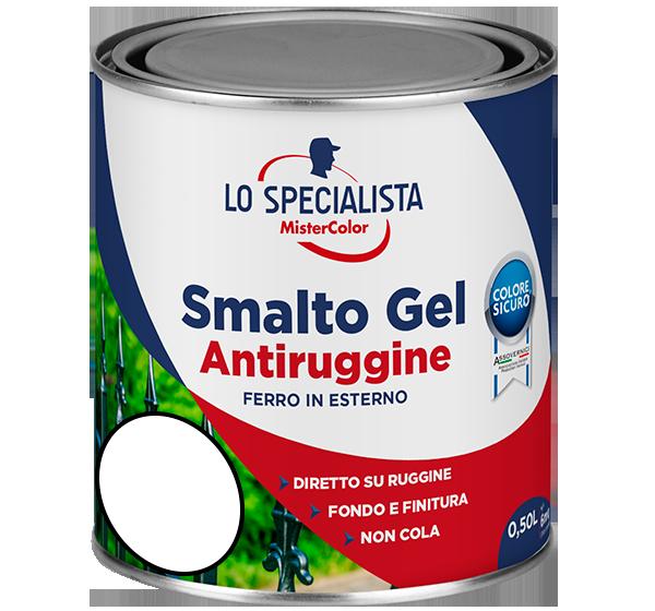 smalto gel antiruggine bianco