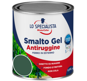 smalto gel antiruggine verde
