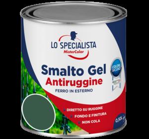 smalto gel antiruggine verde