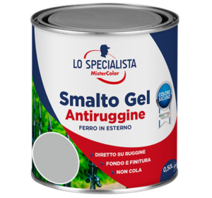 smalto gel antiruggine grigio