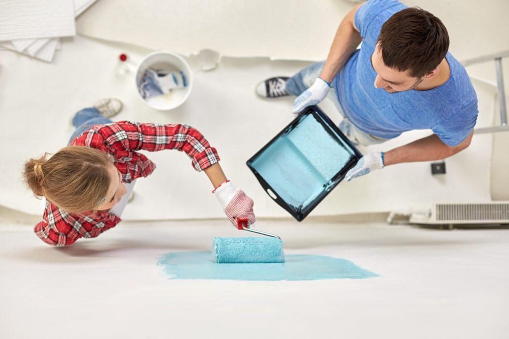 5 consigli utili per imbiancare casa in breve tempo